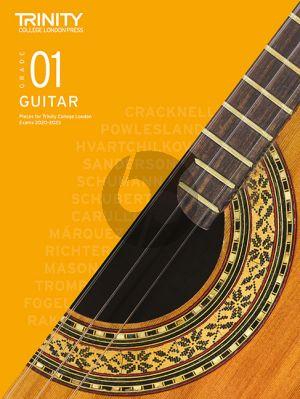 Classical Guitar Exam Pieces 2020-2023: Grade 1
