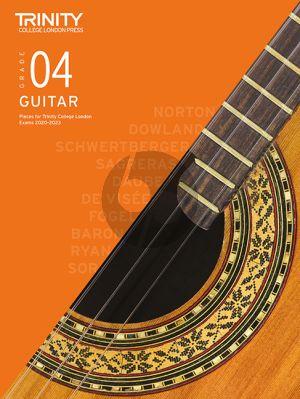 Classical Guitar Exam Pieces 2020-2023: Grade 4