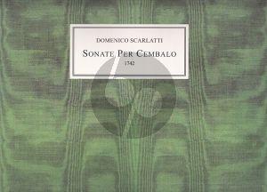 Scarlatti 61 Sonate per Cembalo (1742) Facsimile