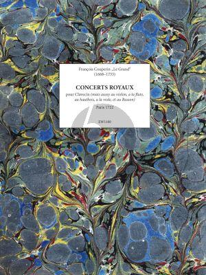 Couperin Concerts Royaux Clavecin Facsimile (Paris 1722)