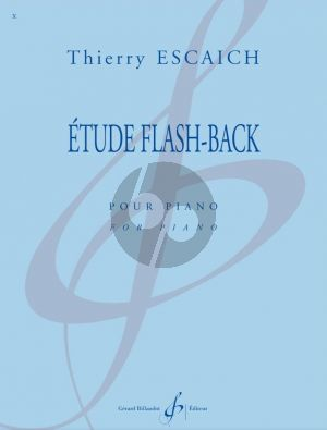 Escaich Etude Flash-Back pour Piano