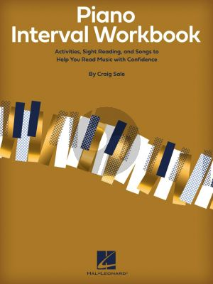 Sale Piano Interval Workbook (Activities, Sight Reading, and Songs to help you read music with confidence)