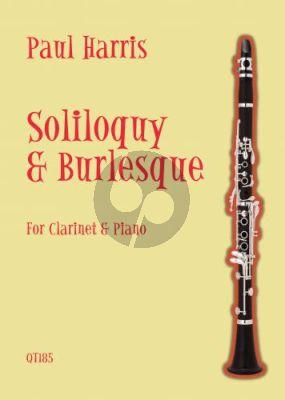 Harris Soliloquy & Burlesque for Clarinet & Piano