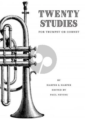 Harper 20 Studies for Trumpet or Cornet (edited by Paul Nevins)