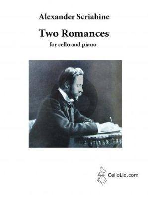 Scriabin 2 Romances for Cello and Piano (transcr. by Mats Lidström)