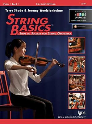 Shade-Woolstenhulme String Basics Vol. 1 Violin (Second Edition) (Steps to Success for String Orchestra) (Book with Audio online)