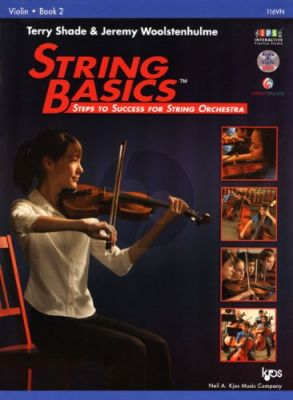 Shade-Woolstenhulme String Basics Vol. 2 Violin (Second Edition) (Steps to Success for String Orchestra) (Book with Audio online)