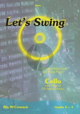 McCormack Let's Swing for Cello and Piano (Bk-Cd)