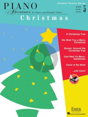 Faber Student Choice Series Christmas Level 5 Piano