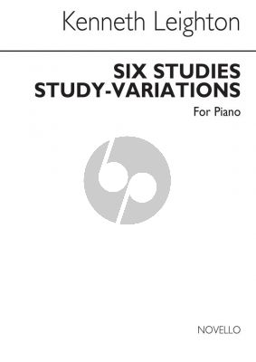 Leighton 6 Studies (Study Variations) Op. 56 Piano