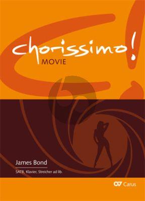 James Bond - Chorissimo Movie Vol. 4 3 Arrangements for SATB (Chorpartitur) (arr. Christoph JK Müller)