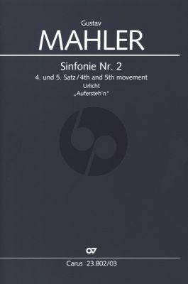 Symphonie No. 2 4. und 5. Satz SA soli -SATB (teils geteilt) - Klavier