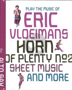 Vloeimans Horn of Plenty for Alto Saxophone Deel 2 (book with online audio file)
