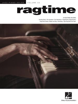 Ragtime for Piano solo (Jazz Piano Solos Series Volume 55)