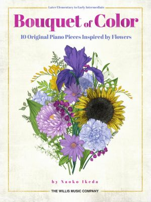 Ikeda Bouquet of Color Piano solo (10 original piano solos inspired by flowers)