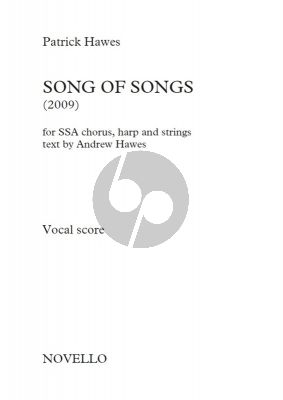 Hawes Song of Songs Soprano Solo-SSA-String Quintet and Harp (Vocal Score)