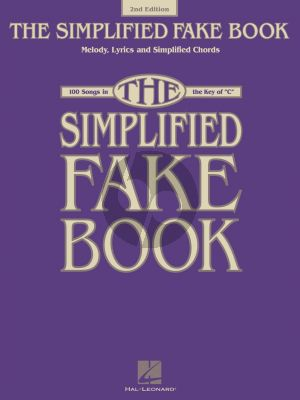 Simplified Fake Book for all C Instruments (2nd edition)