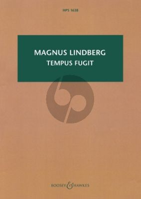 Lindberg Tempus Fugit for Orchestra (Study Score)