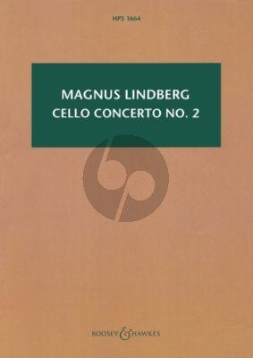 Lindberg Concerto No. 2 Violoncello and Orchestra (Study Score)