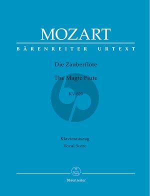 Mozart Die Zauberflote KV 620 Vocal Score (germ.) (edited by Martin Schelhaas) (Hardcover)