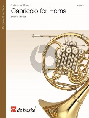 Proust Capriccio for 3 Horns with Piano (Score/Parts)