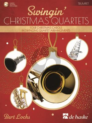 Lochs Swingin' Christmas Quartets 4 Trumpets (Score/Parts) (Book with Audio online)