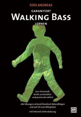 Andreas Garantiert Walking Bass lernen Bk-Cd