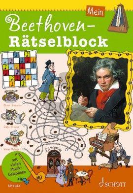 Mein Beethoven-Ratselblock (Ausgabe mit Online-Audiodatei)