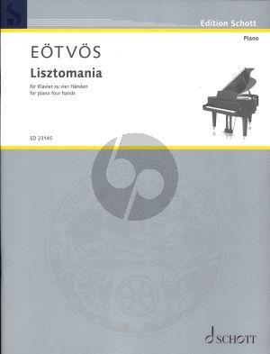 Lisztomania fur Klavier zu 4 Handen