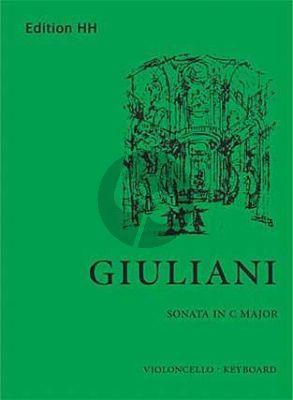 Giuliani Sonate C-Dur Violoncello und Cembalo[Klavier] (Edited by A. Cirillo)