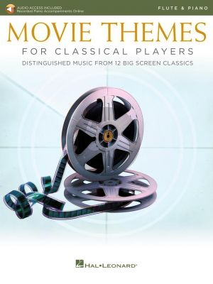 Movie Themes for Classical Players – Flute and Piano (Book with Audio online)