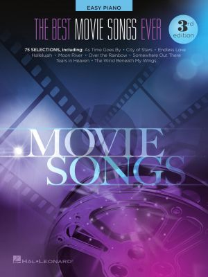 The Best Movie Songs Ever Easy Piano (3rd. edition)
