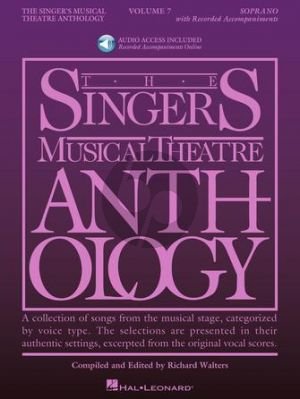 Singer's Musical Theatre Anthology Volume 7 Soprano (Book with Audio online) (edited by Richard Walters)