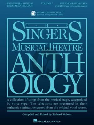 Singer's Musical Theatre Anthology Volume 7 Mezzo-Soprano / Belter (Book with Audio online) (edited by Richard Walters)