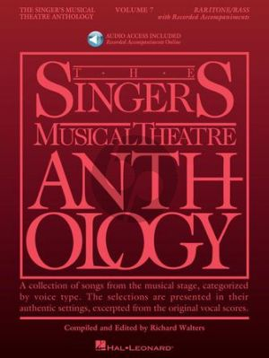 The Singer's Musical Theatre Anthology Volume 7 Baritone / Bass (Book with Audio online) (edited by Richard Walters)