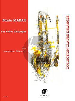 Les Folies d'Espagne Saxophone solo (Eb or Bb)