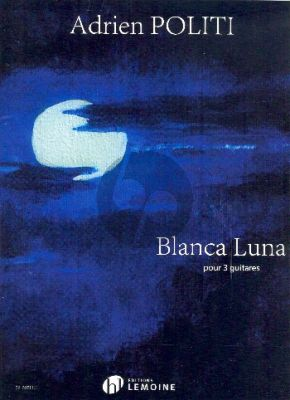 Politi Blanca Luna 3 Guitares