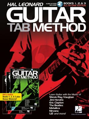 Hal Leonard Guitar Tab Method Books 1, 2 & 3 All-in-One Edition! (Book with Audio online)