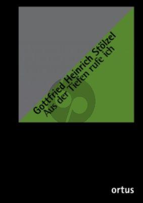 Stolzel Aus der Tiefen rufe ich SATB soli-SATB- 2 Oboen-Streicher-Bc (Partitur) (Denis Lomtev)