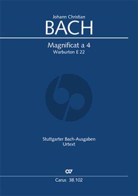 Bach Magnificat a 4 Warb. E 22 Soli-Chor-Orchester (Partitur) (Günter Graulich)