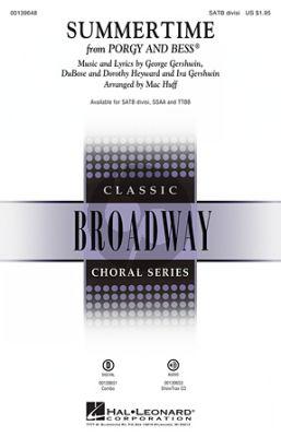 Gershwin Summertime SATB Divisi (Arranged by Mac Huff)