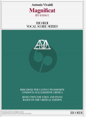 Vivaldi Magnificat RV 610a- 611 SSAT soli-SATB/SATB-Piano Vocal Score (edited by Michael Talbot)