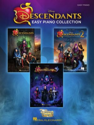 The Descendants Collection Easy Piano (Music from the Trilogy of Disney Channel Motion Picture)