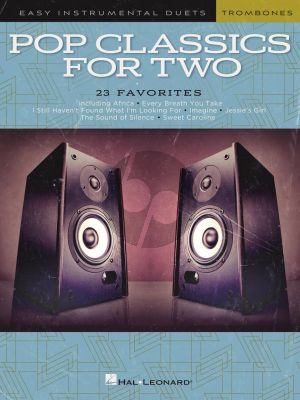 Pop Classics for Two Trombones (arr. Mark Phillips)