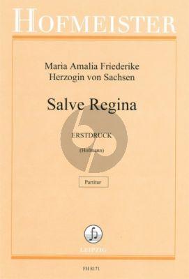 Amalie Salve Regina SATB und Orchester Partitur (Katharina Hofmann)