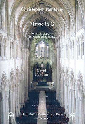 Tambling Messe in G SA(T)B und Orgel (Orgelfassung)