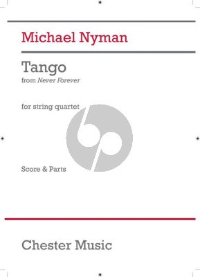Nyman Tango String Quartet ((from Never Forever)) (Score/Parts)
