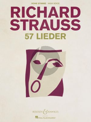 Strauss 57 Lieder High Voice and Piano