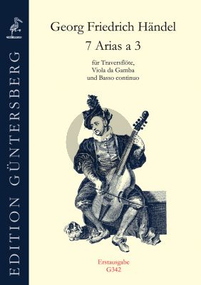 7 Arias a 3 Flute-Viola da Gamba and Bc