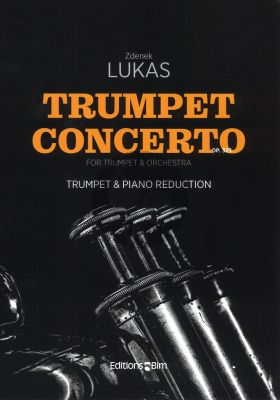 Lukas Concerto Op.323 Trumpet and Piano